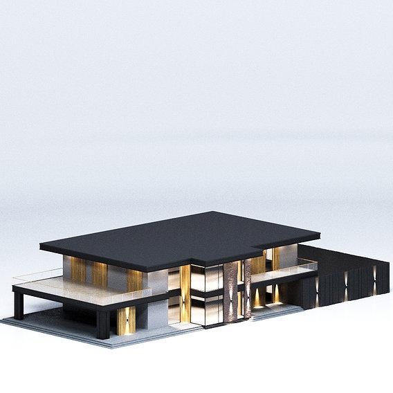 Modern house 02