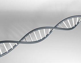 DNA Strand 3D medical