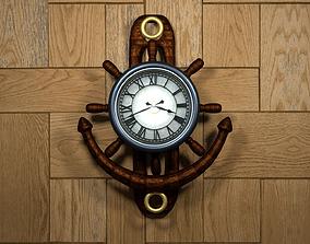 Wall Clock 3D model VR / AR ready