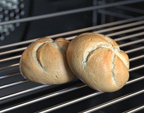 Bread Kaiser 3D Model Photoscan realtime