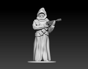 The Jawa figure 3D printable model