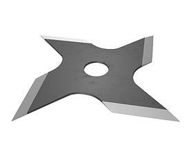 Shuriken steel 3D