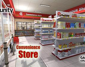 3D asset Convenience Store