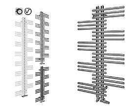 Zehnder Yucca Towel Rail 3D asset