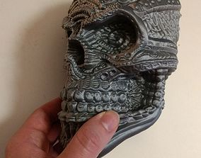 3D print model Stylized skull sculpt
