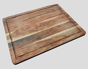 3D asset Chopping Board