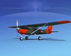 Cessna T-41 Mescalero South Vietnam AF 3D model