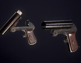 Flare gun sp-81 3D model