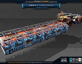 Heavy CargoShip 3D model