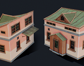 House of Color E 3D asset