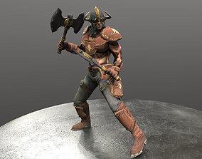 3D model Barbarian