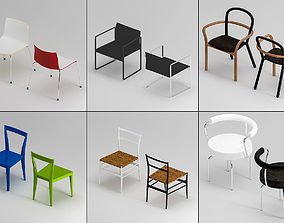 Chair Set 3D model