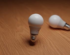 Bulb Light Led Light 9W 6500k 3D model