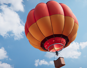 3D asset Air Balloon