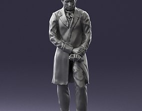 Statue of a poet from Russia 0314 3D Print
