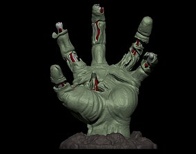 Realistic Zombie hand 3D printable model