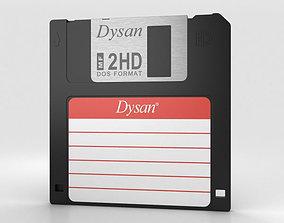 3D model Floppy Disk 3-5 inch