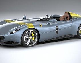 Ferrari Monza SP1 2019 3D