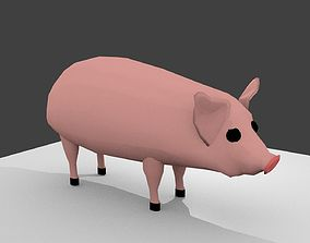 pig cartoon 3D