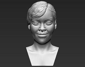 Rihanna 3D printing ready stl obj formats jackson