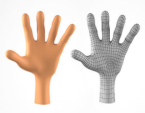 3D model Hand for Cartoon Character