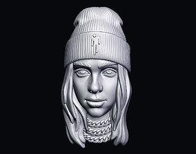 Billie Eilish 3D printable model