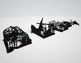 Ruin Model 3D asset