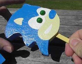 Sonic Popsicle 3D print model