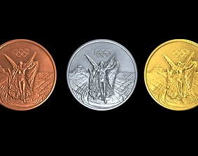 3D asset Generic Olympic medal