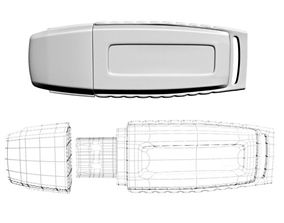 datatraveler USB Flash Drive 3D model