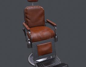 3D model realtime Barbershop Chair