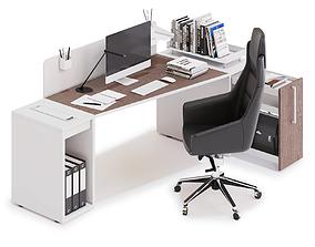 3D Office workspace LAS LOGIC v9