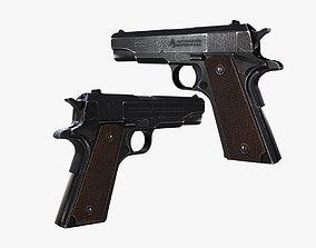 3D asset Pistal M1911