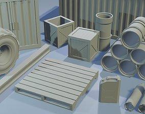 3D printable model Construction Set - Wargaming Terrain
