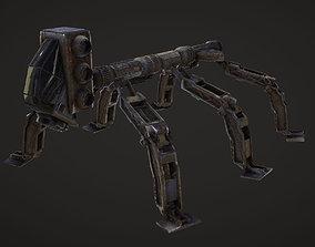 spider bot 3D asset