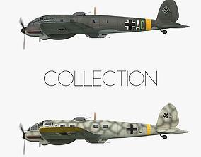 Heinkel He 111 - Eastern Front Collection 3D asset