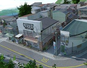 Kochiku City 3D asset