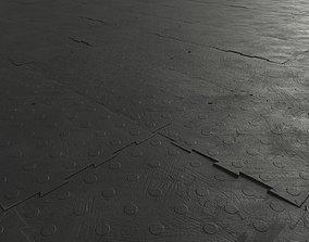 Rubber Floor Tiles 3D asset