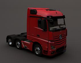 3D asset Mercedes-Benz ACTROS 2551 LS 6x2