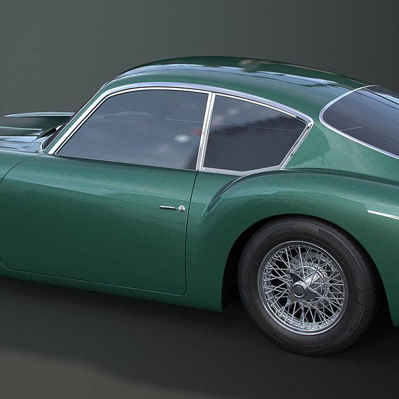 Aston Martin DB4 Zagato WIP 01