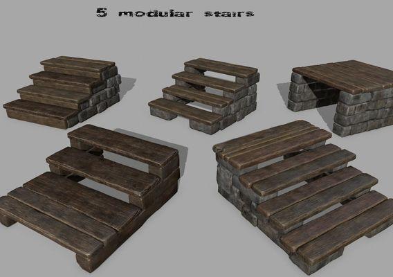 stairs set