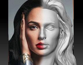 3D print model Gal Gadot Wonder Woman Bust Art wonder