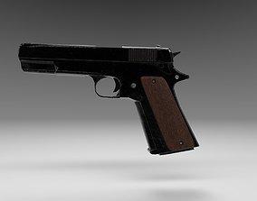 M1911 Style Pistol Custom 3D model