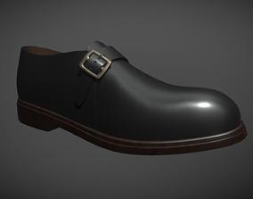 Monk Shoe 3D asset