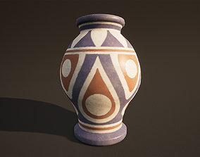 plant 3D model Vase Game Ready