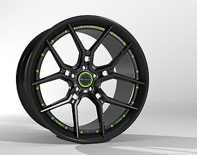 3D model Brixtonforged racing wheels cm5-carbon