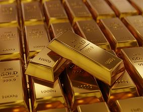 Free Gold Bar Project 3D model