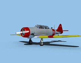 North American SNJ USMC V03 3D