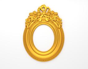 Frame mirror 3D model 07