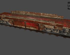 3D asset low-poly Train